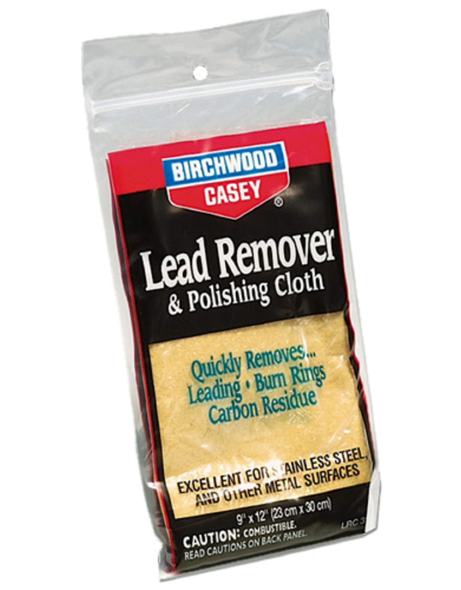 BIRCHWOOD CASEY BWC Lead Remover Polishing Cloth Lead Remover Polishing Cloth