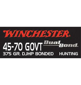 WINCHESTER WInchesater .45-70 Govt Dual Bond 375 gr HP