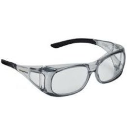 CHAMPION Champion 40633 Over-Spec Ballistic Glasses, Clear
