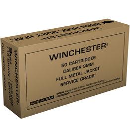 WINCHESTER Winchester 9mm 115gr FMJ Service Grade