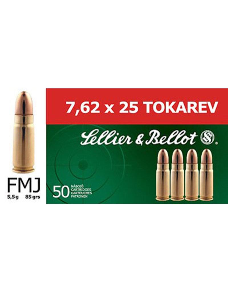 MAGTECH S&B 7.62x25 Tokarev 85 Gr