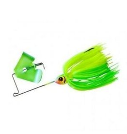 Booyah Booyah Pond Magic Spinnerbait, 1/8 oz, Limetreuse