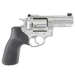 "RUGER Ruger GP100 Revolver Pistol 44 Special. 3""Bbl, Stainless, Hogue"