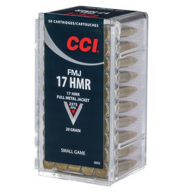 CCI CCI Small Game 17 HMR 20 Gr FMJ - 50 Count Box