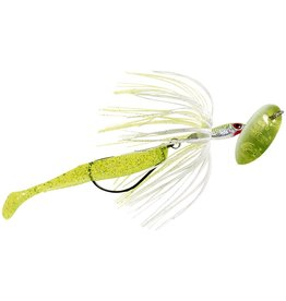Panther Martin Panther Martin Hula Runner Weedless In-line Spinner Chatruese and White