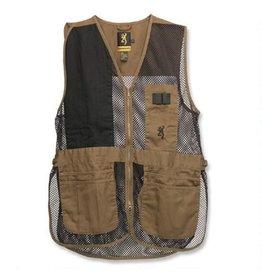 Browning Trapper Creek Vest Clay/Black - MED