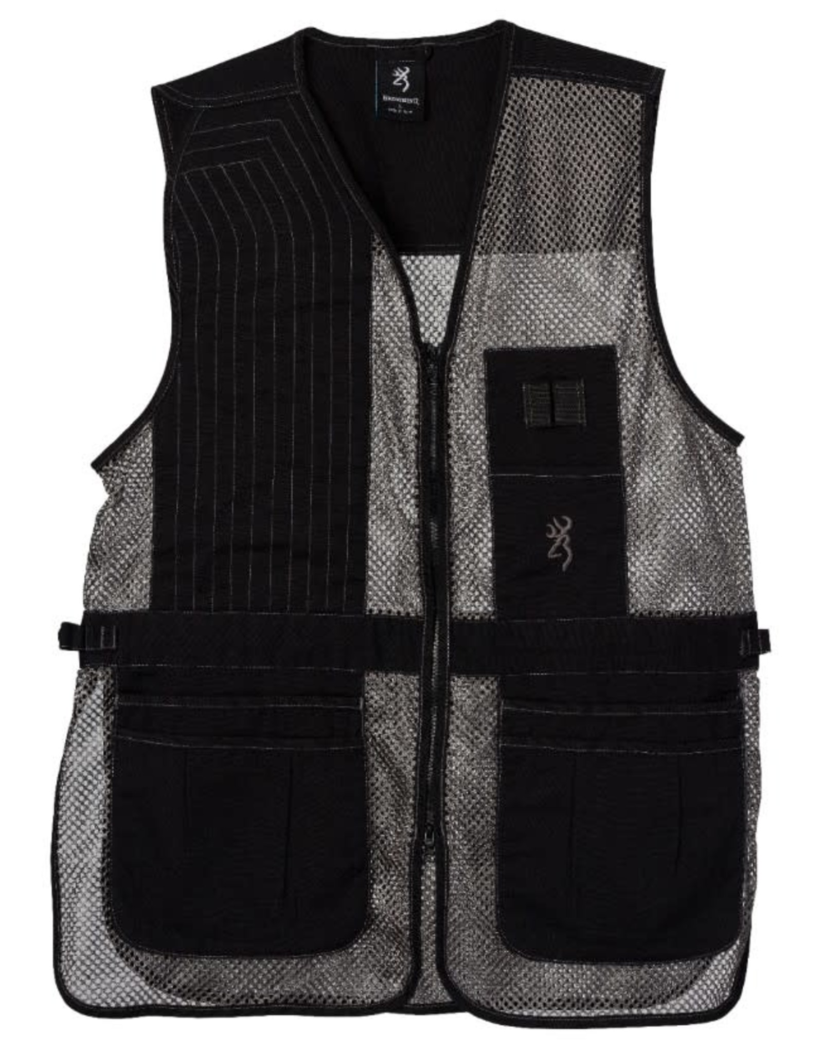 Browning Tapper Creek Vest Blk/Gry XL