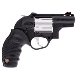 "TAURUS Taurus 605 2"", .357 mag Black Rubber Grip, Blued w/ Stainless Cylinder"