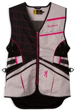 Browning Ace Shooting Vest - Pink - MED