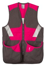Browning Summit Vest Smoke/Hot Pink - SM