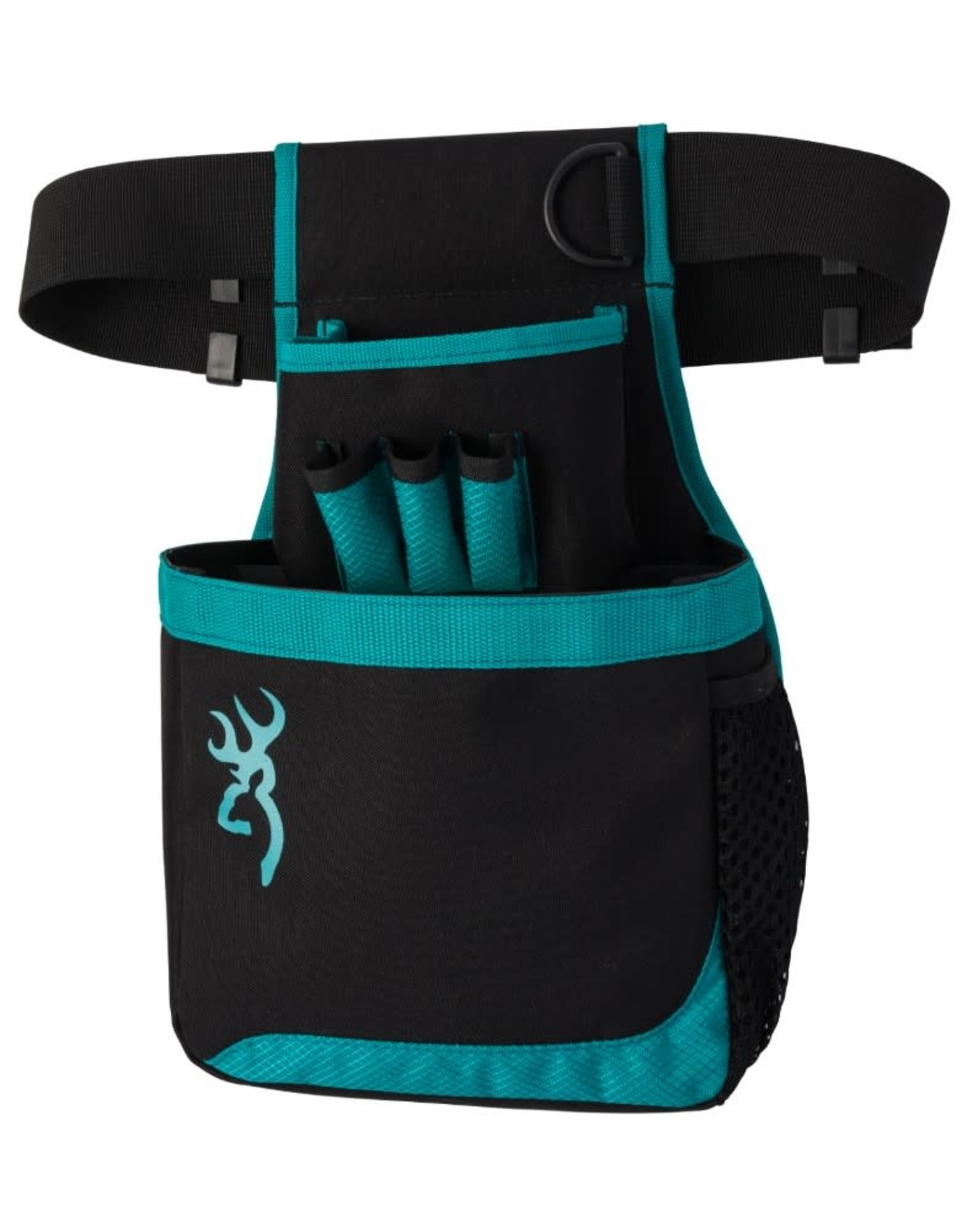 Browning Browning Black and Teal Flash Shell Pouch