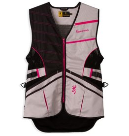 Browning Ace Shooting Vest - Pink - Small