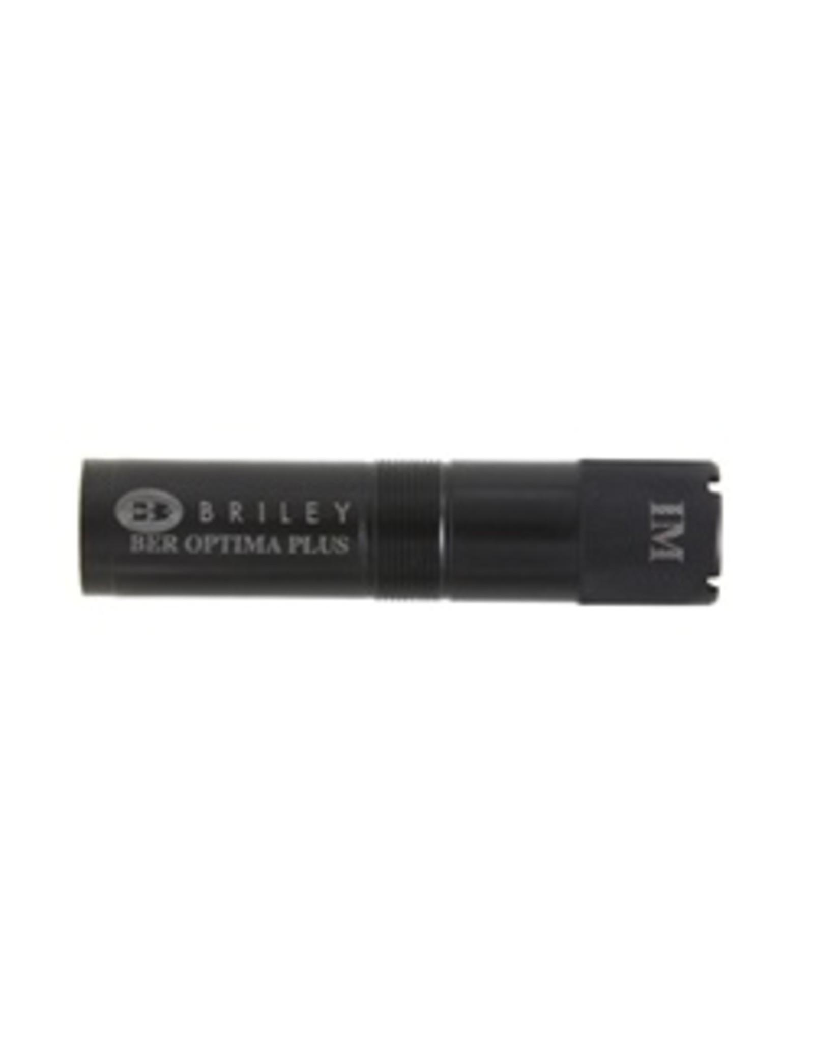 Briley 12 ga Ext Blk Beretta Optima Plus - Modified