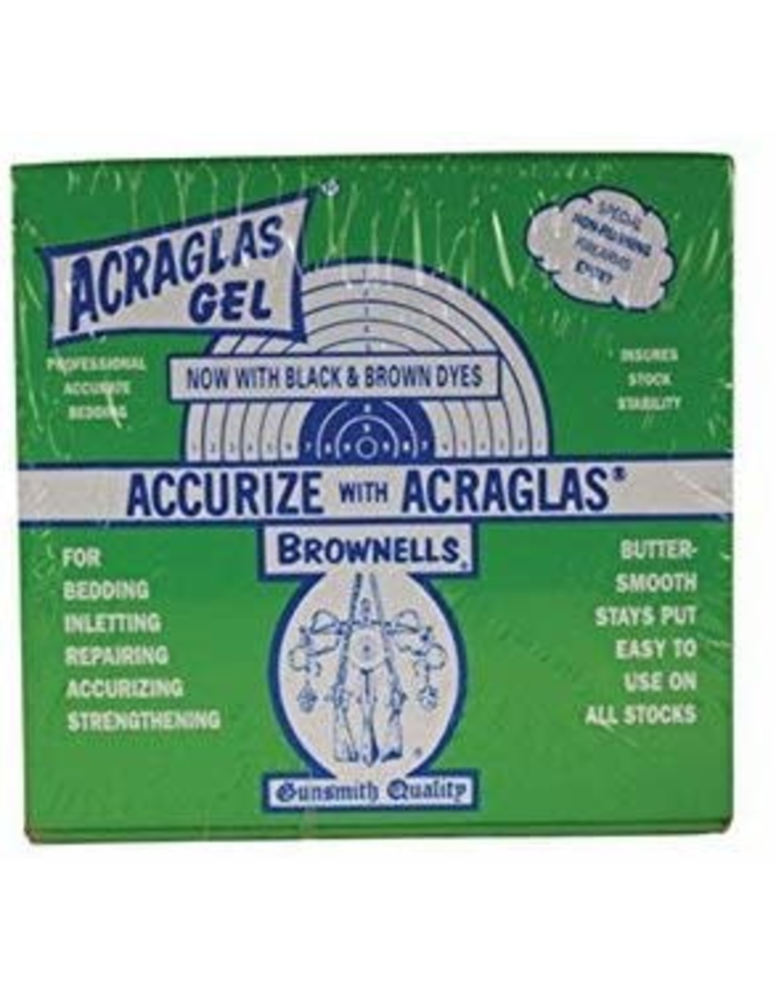 BROWNELLS Brownells Acraglas - Gel Formula