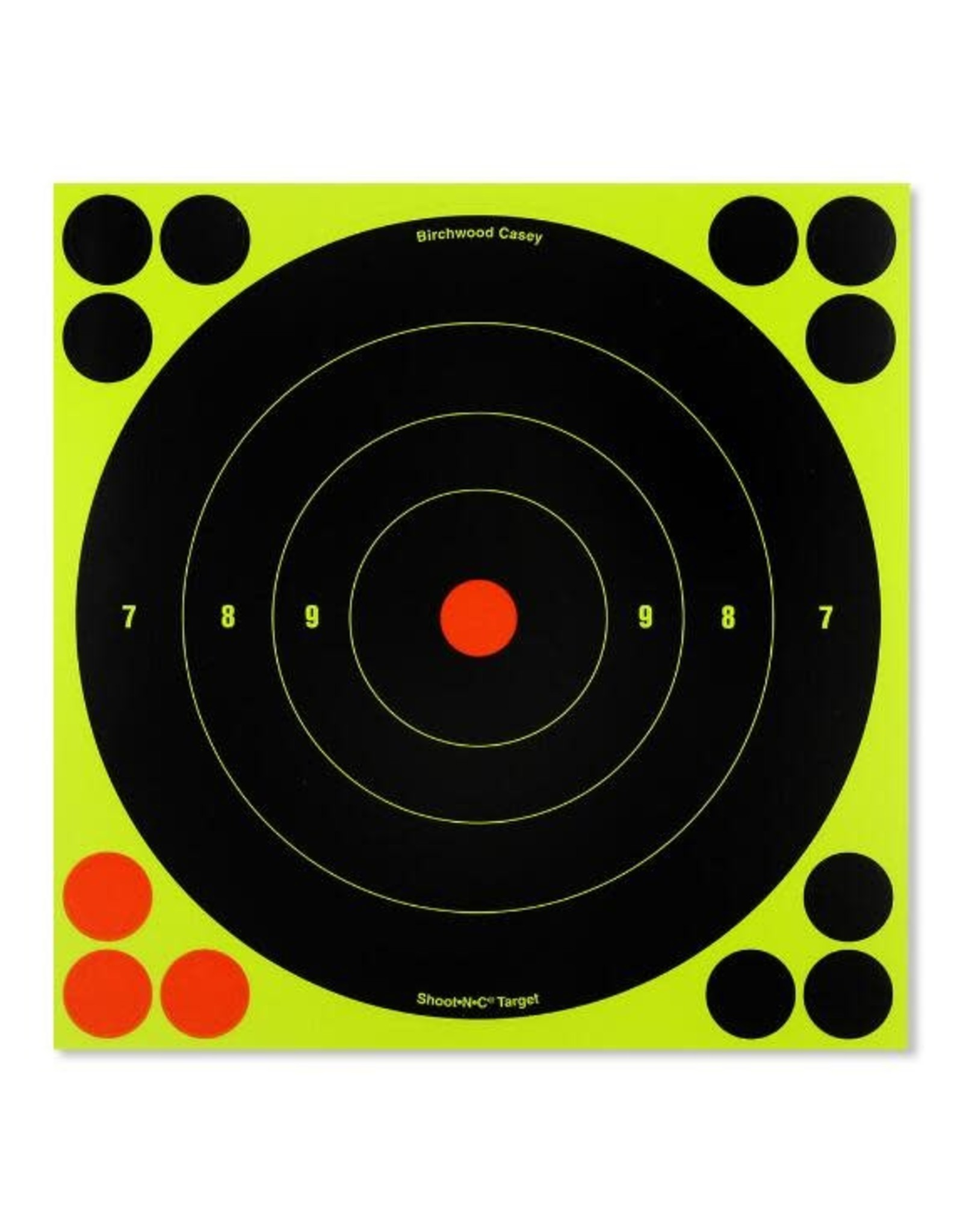 """BIRCHWOOD CASEY BWC Shoot-N-See 6"""" 12 Count"""