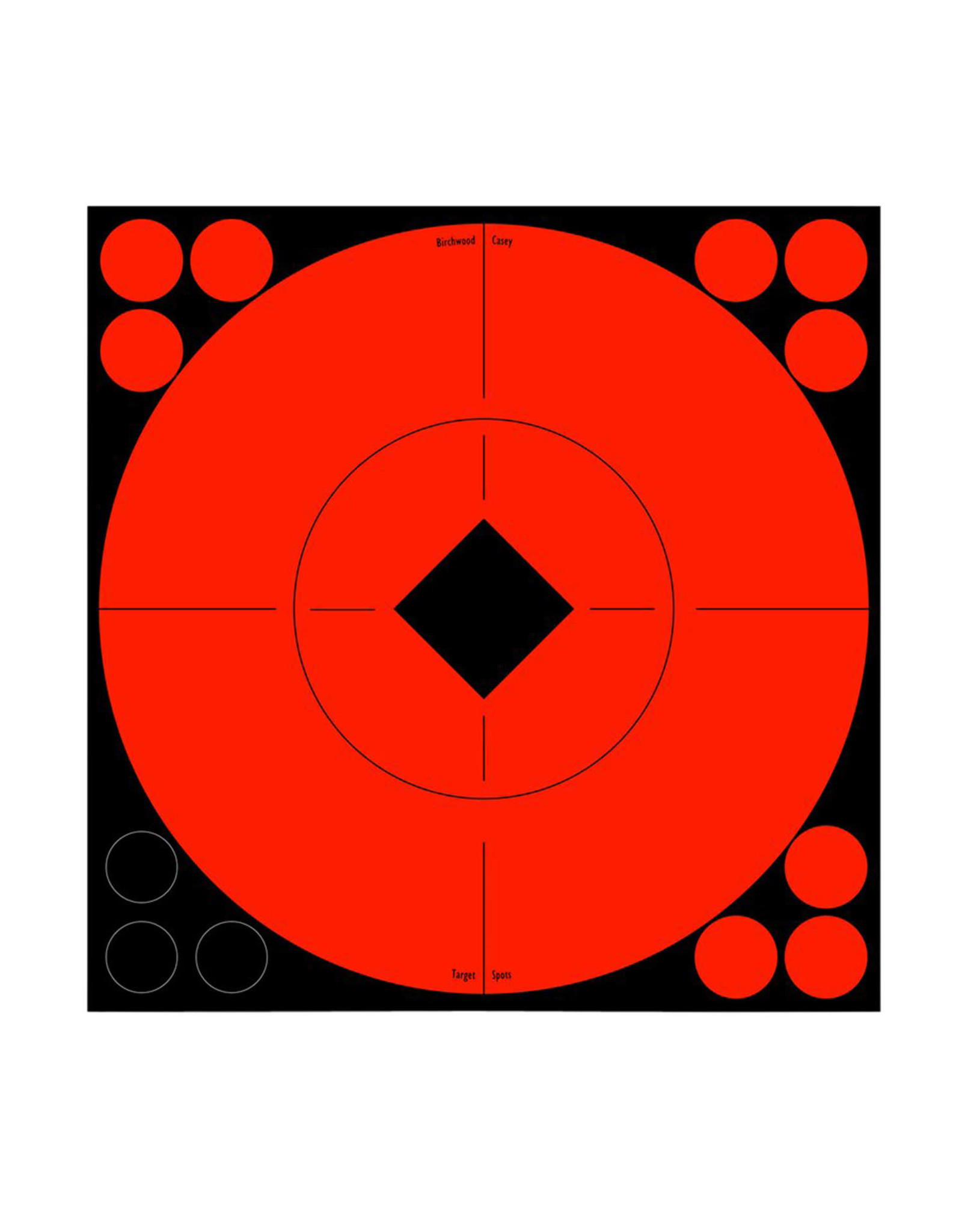 "BIRCHWOOD CASEY BWC Target Spots 8 - 8"" Targets w/ 96 repairs"