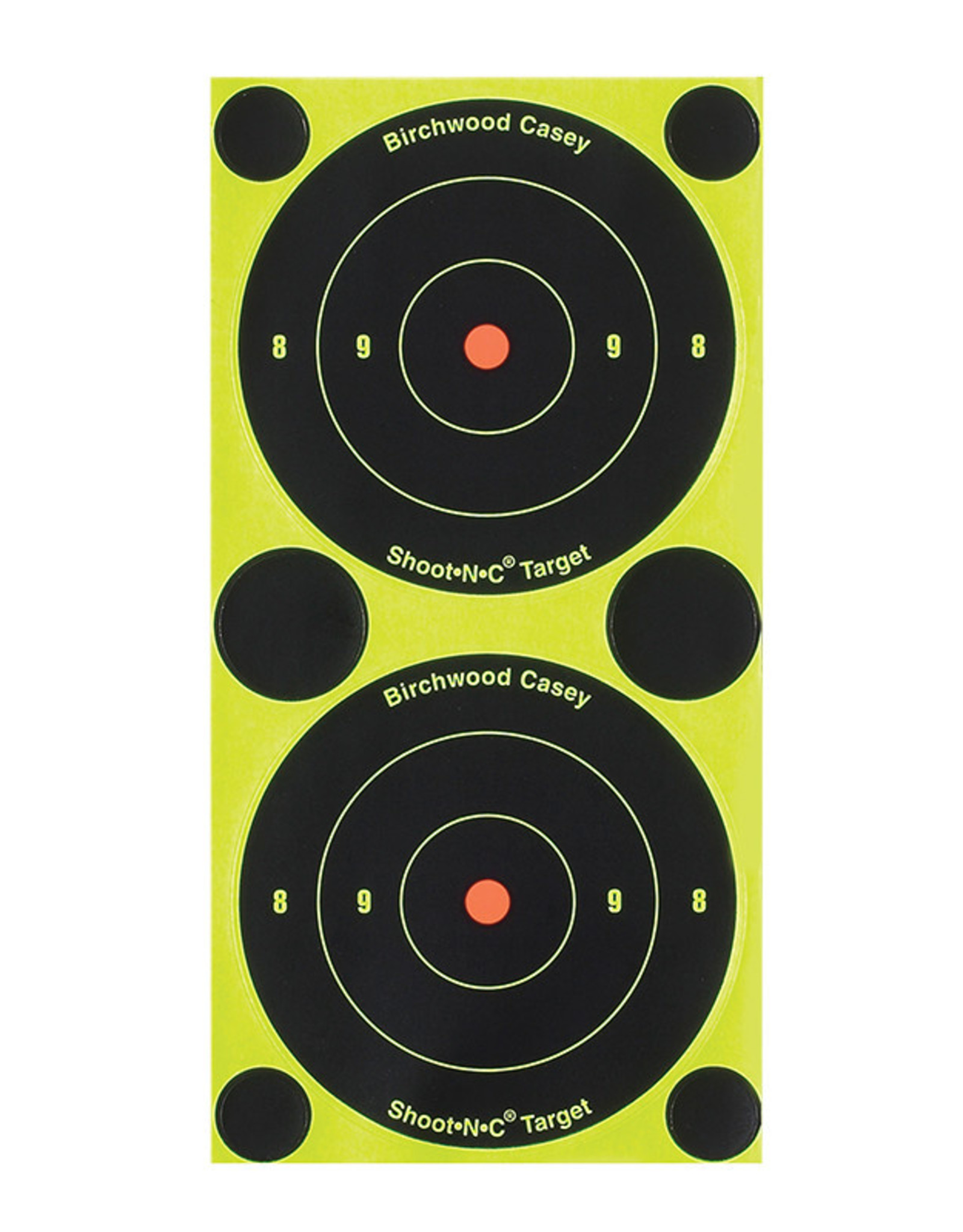 "BIRCHWOOD CASEY BWC Shoot-N-C Bull's-Eye 3"" 240  Self-Adhesive Targets"