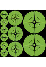 "BWC Target Spots Self-Adhesive Crosshair 60-1""/30-2""/20-3"""