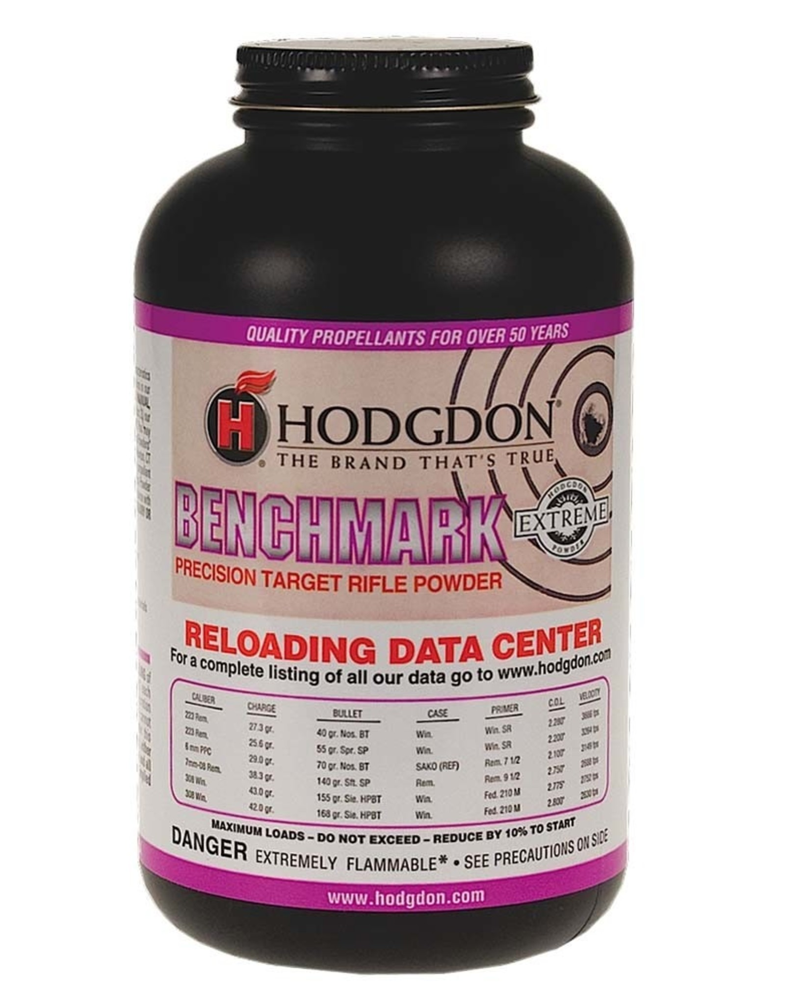 Hodgdon Hodgdon Benchmark Extreme Rifle