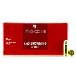 Fiocchi Fiocchi 32 ACP (Browning 7.65) FMJ, 73 Gr