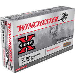 WINCHESTER Winchester Super-X 7mm Rem Mag 175 gr
