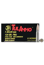 TULAMMO TulAmmo 7.62x39mm 124 Gr HP