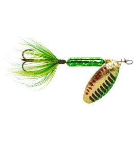 Worden's Worden's Rooster Tail 1/8 Oz. 208 - Metallic Gold and Green Pirate
