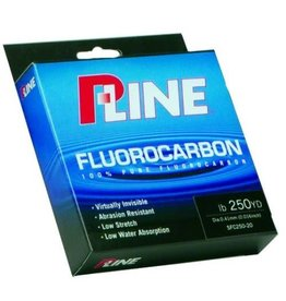 P-Line P-Line Soft Fluorocarbon Fishing Line 250Yd 8# Clear