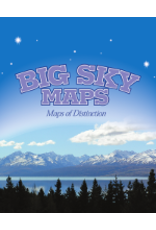 Big Sky Maps - Challis Quad