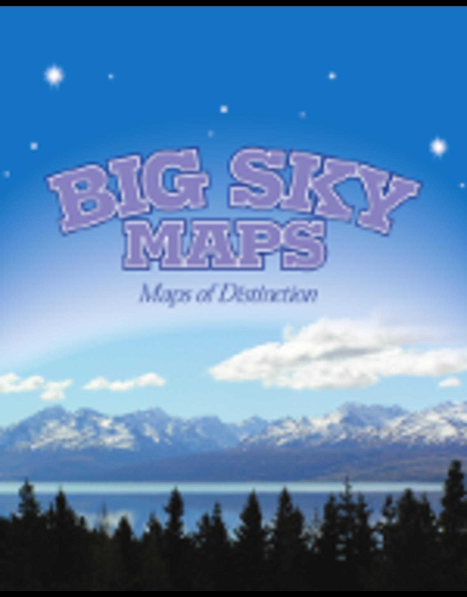 Big Sky Maps - Coeur d'Alene Quad