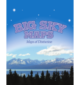 Big Sky Maps - Craters of the Moon Quad