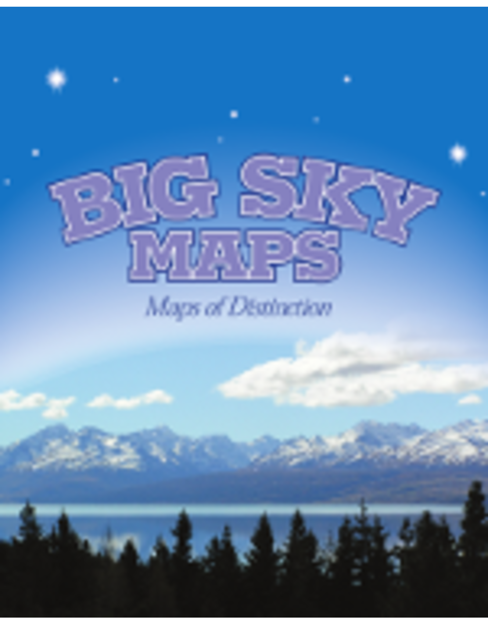 Big Sky Maps - Clearwater County