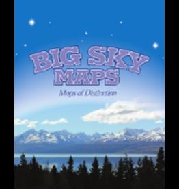 Big Sky Maps - Custer County