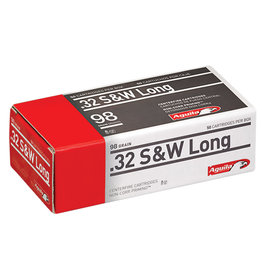 Aguila Aguila .32 S&W Long - 98 Gr - Lead RN - 50 Count Box