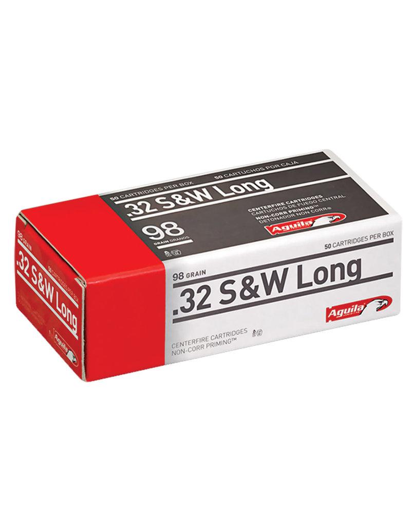 Aguila Aguila .32 S&W Long - 98 Gr - Lead RN - 50 Count Box