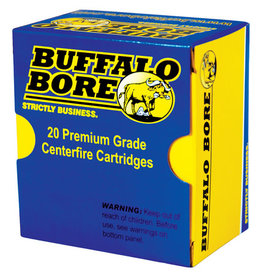 BUFFALO BORE AMMUNITION Buffalo Bore 9mm+ P 115 Gr JHP 20 Count