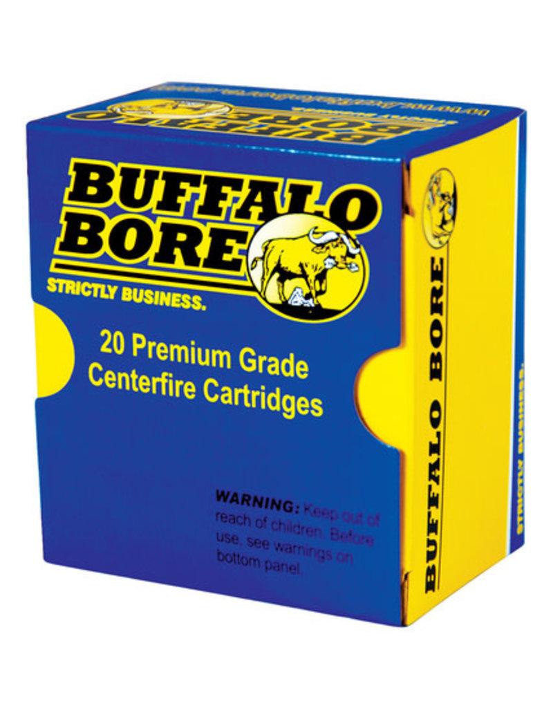 BUFFALO BORE AMMUNITION Buffalo Bore 9mm+ P 115 Gr JHP 20 Count