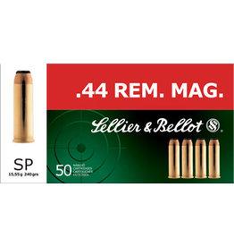 SELLIER & BELLOT Sellier & Bellot 44 Mag  SJSP 240 Gr - 50 Count