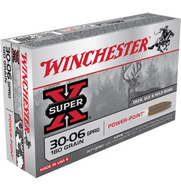 WINCHESTER WIN 30-06 180GR PP SUP-X