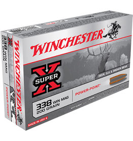 WINCHESTER Winchester Super-X .338 Win Mag 200 gr PP - 20 Count