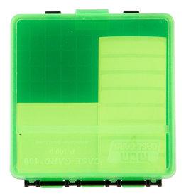 MTM MTM Flip Top - 100 Round Pistol - Clear Green & Black