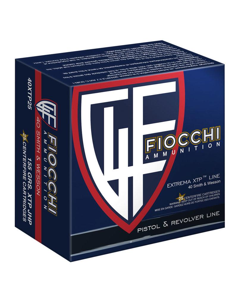 Fiocchi Fiocchi .40 S&W 155 Gr XTP HP - 25 Count
