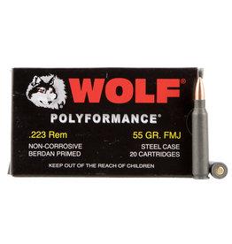 Wolf Wolf .223 Rem / 5.56 Nato 55 Gr - 20 Rnd