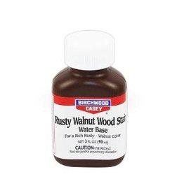 BIRCHWOOD CASEY BWC Rusty Walnut Stain 3 Oz.