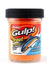 Berkley Berkley Gulp Trout Dough Orange Pulp 1.75oz Jar