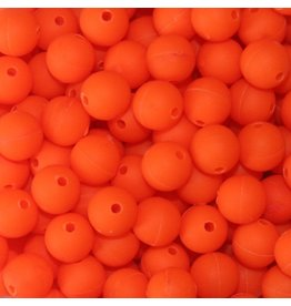 Troutbeads STD 10mm Fluorescent Orange - 30 Count