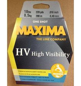 Maxima Hi-Viz Yellow 220 Yds 18#