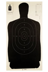 Champion Police Silhouette Target - Black