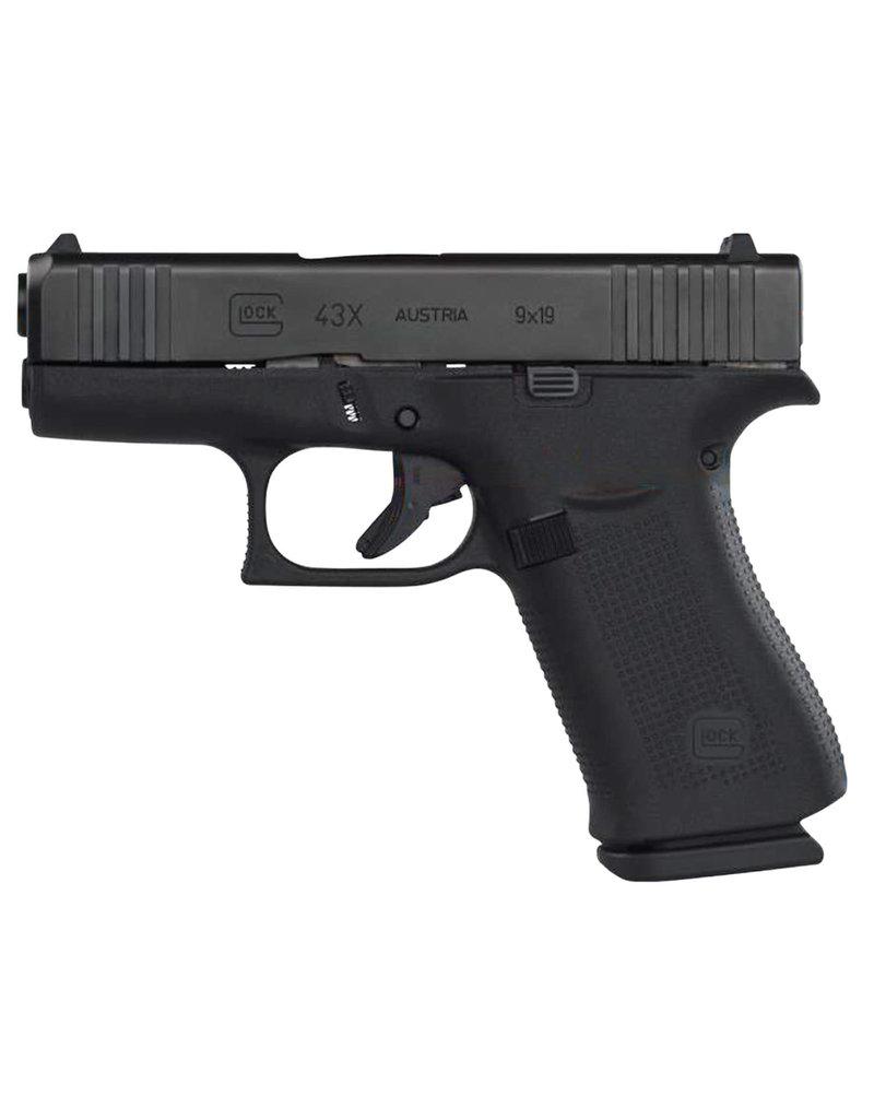 Glock G43X 9mm 10+1 w/ Black Slide