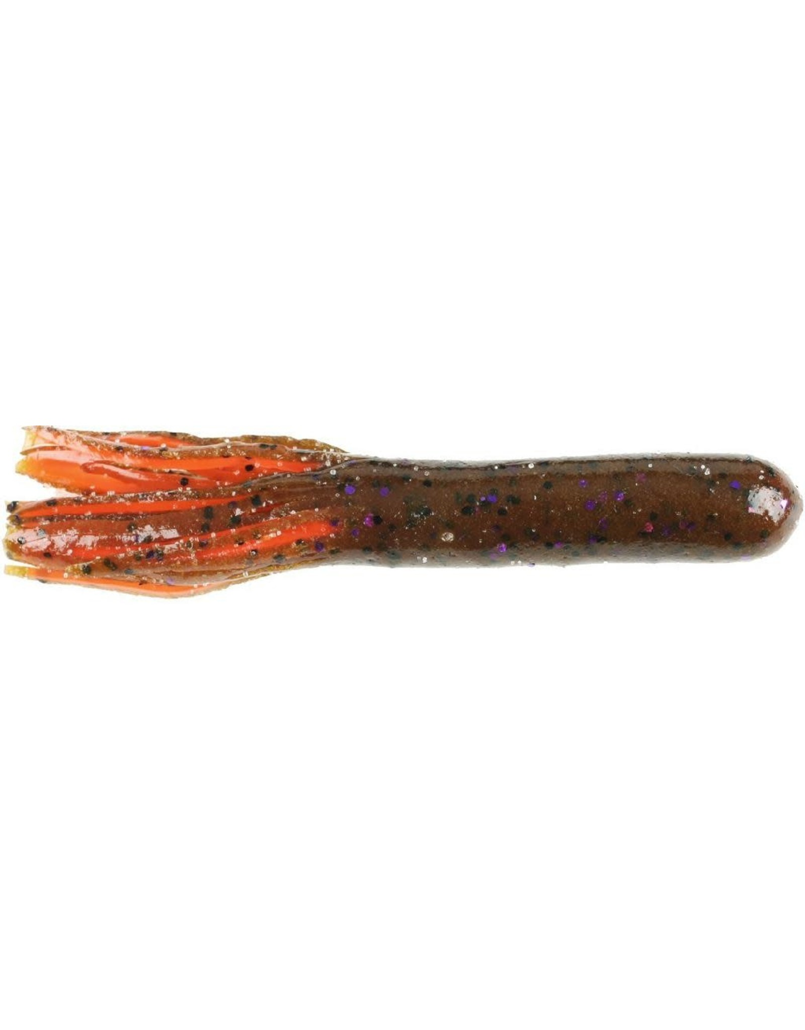 "Dry Creek Tube 3-1/2""  Red Hot Craw"